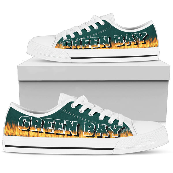 Green Bay Fan Low Top