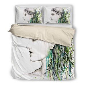 Lady Art-Duvet Cover Set