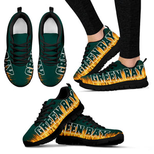 Green Bay Fan Sneakers