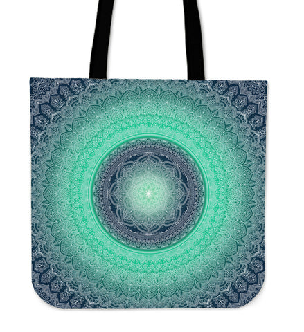 Blue Mnadala-Tote Bag