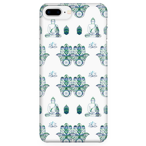 Hamza Hand & Buddha Custom Design Phone Case