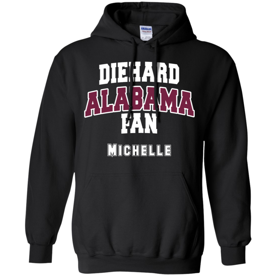 Alabama Personalized Pullover Hoodie 8 oz.
