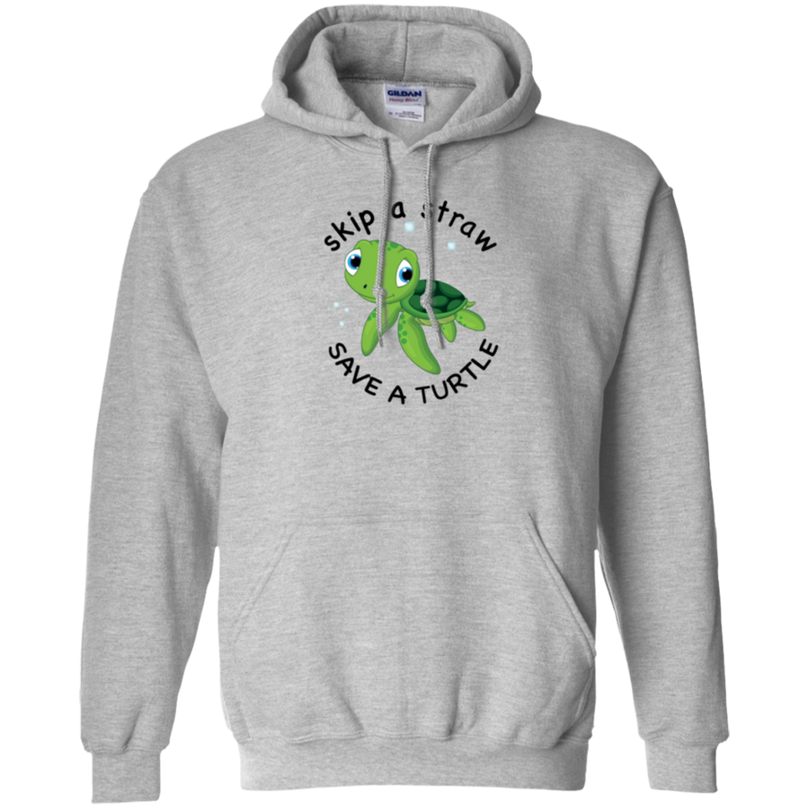 Save A Turtle Gildan Pullover Hoodie 8 oz.