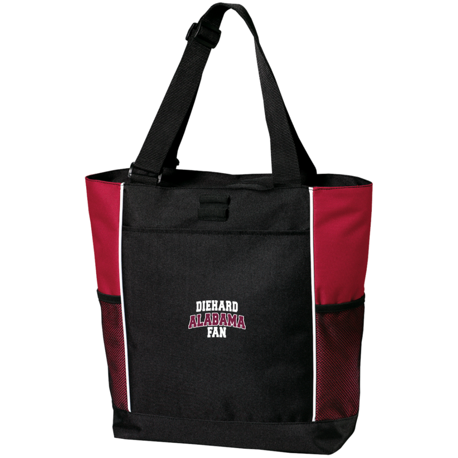 Alabama Embroidery Port Authority Colorblock Zipper Tote Bag