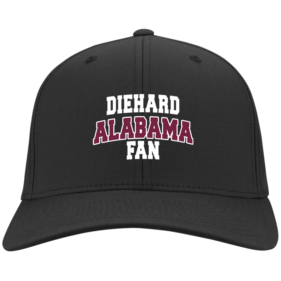 Alabama Embroidery Port Authority Flex Fit Twill Baseball Cap