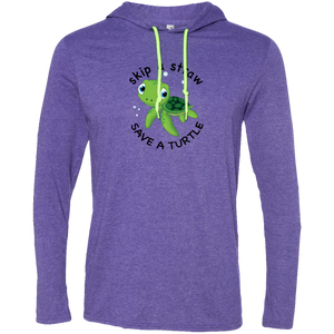 Save A Turtle Anvil LS T-Shirt Hoodie