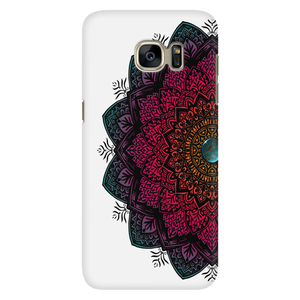 Red Mandala Phone cover