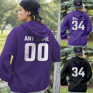 Personalized Kansas State Wildcats Adult Hoodie - Any Name & Number