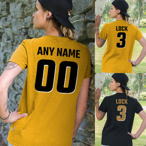 Personalized Missouri Tigers Adult Unisex T-Shirt - Any Name & Number