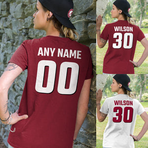 Personalized Alabama Fans Adult Unisex T-Shirt - Front & Back Design
