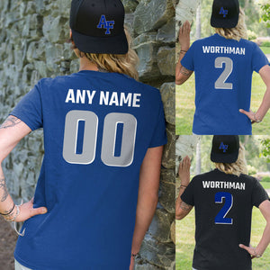 Personalized Airforce Falcons Unisex T-Shirt  - Any Name & Number