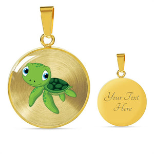 Turtle - Luxury Necklace Silver & Gold