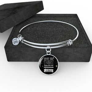 Nurse Necklace and Bracelet (Silver) - Only The Strongest Women Become Nurses