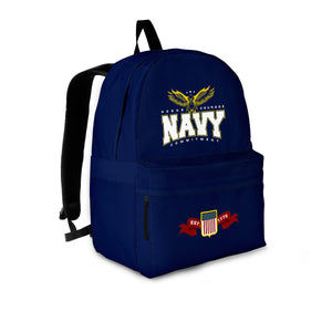 Navy Backpack