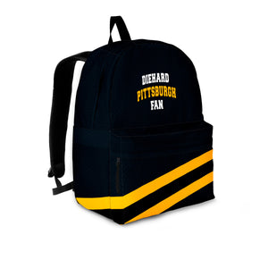 Diehard Pittsburgh Fan Backpack