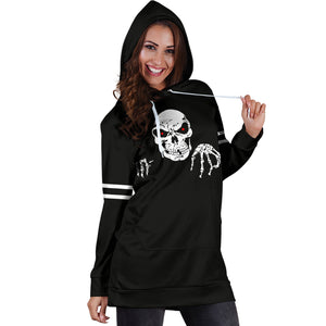 Death Halloween Hoodie Dress