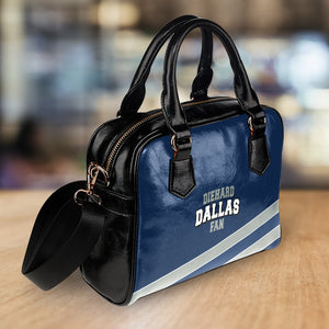 Diehard Dallas Fan Shoulder HandBag