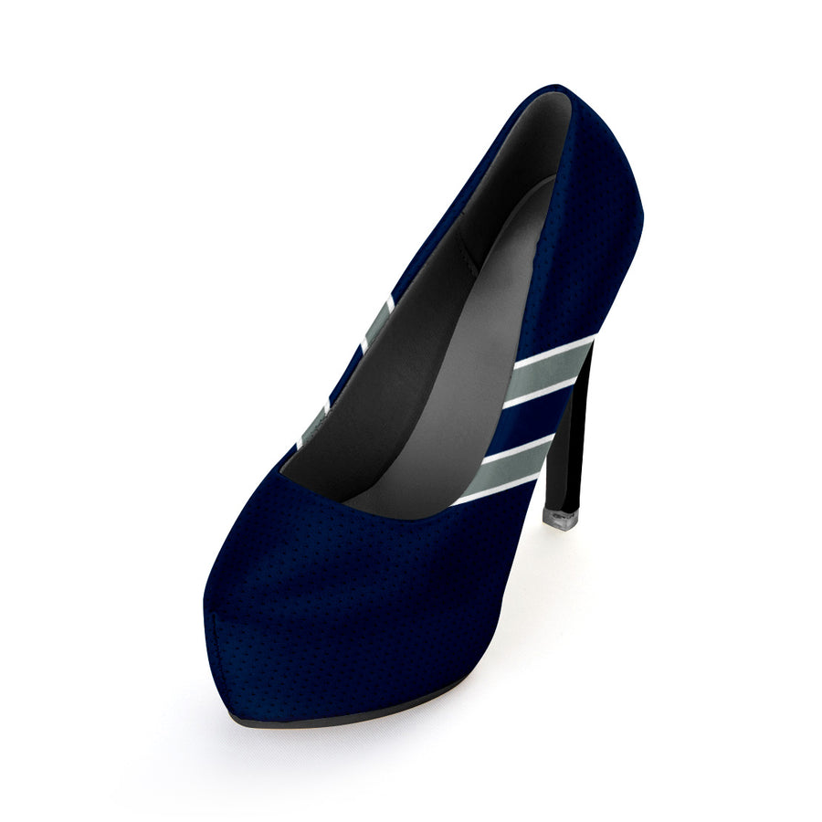 Diehard Dallas Fan Heels