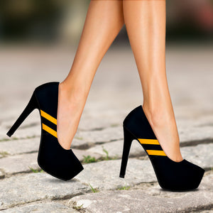 Diehard Pittsburgh Fan Heels