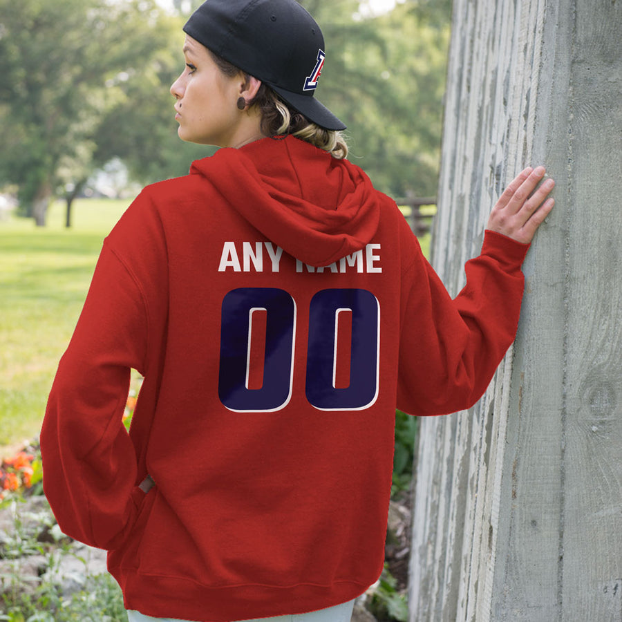 Personalized Arizona wildcats Adult Unisex Hoodie - Any Name & Number