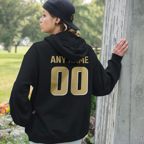 Personalized Colorado Buffaloes Adult Hoodie - Any Name & Number