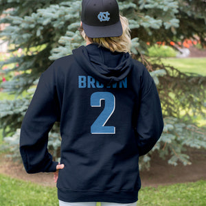 Personalized North Carolina Tar Heels Adult Hoodie - Any Name & Number