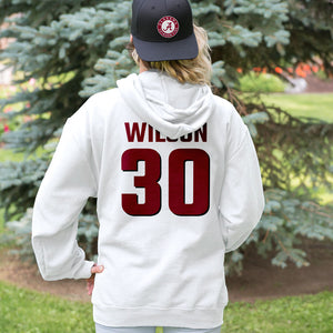 Personalized Alabama Fans Adult Hoodie - Front & Back Design