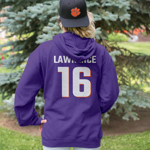 Personalized Clemson Fans Adult Unisex Hoodie - Front & Back Design