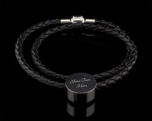 Luxury Leather Bracelet - To My Mom