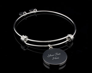 Luxury Bangle - To The World You Are A Mother