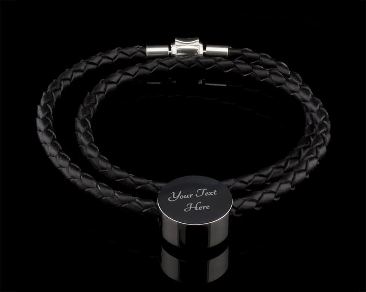 Luxury Leather Bracelet - For All The Words