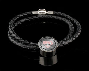 Luxury Leather Bracelet - To The World You Are A Mother
