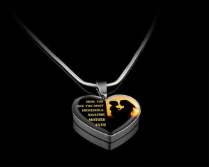 Luxury Necklace (Silver) - Amazing Mother Ever