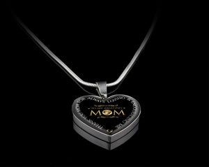 Luxury Necklace (Silver) - To My Amazing Mom
