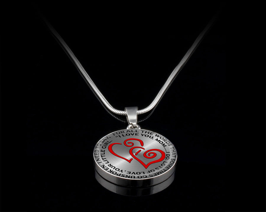 Luxury Necklace (Silver) - For All The Words
