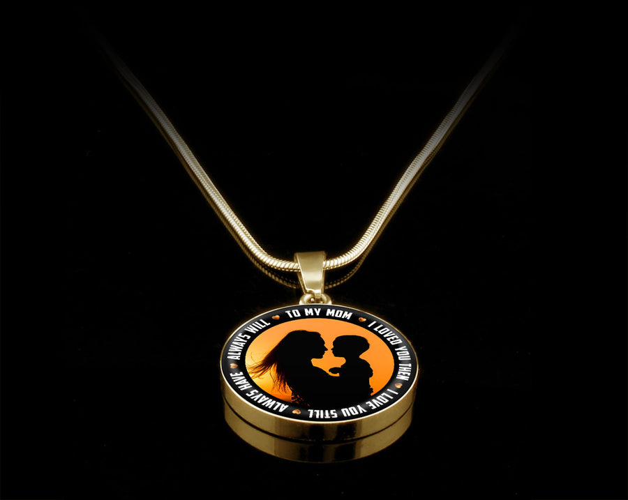 Luxury Necklace (Gold) - I Love You Then