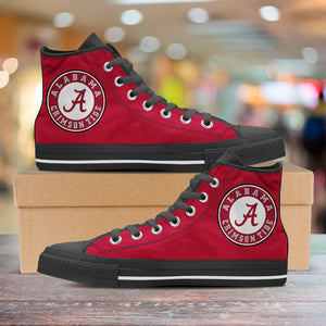 Alabama Hightop Canvas Shoes - Men's & Ladies Sizes
