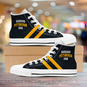Diehard Pittsburgh Fan Hightop