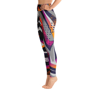 Yoga Leggings Geometric Pattern