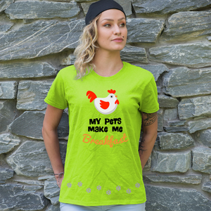 Pets Make Breakfast Shirt