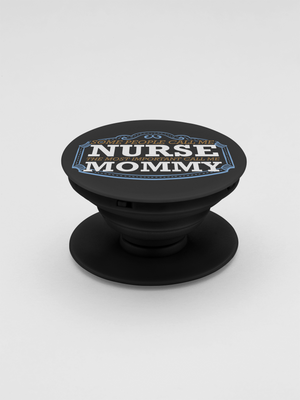 Nurse Mommy Pop-Out Phone Grip For Smartphone & Tablets
