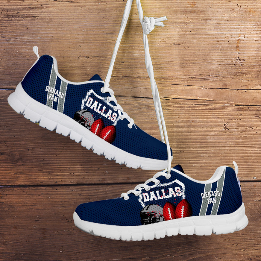 Diehard Dallas Fan Running Shoes
