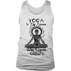 Limited Edition Custom Printed Mens Yoga Tank