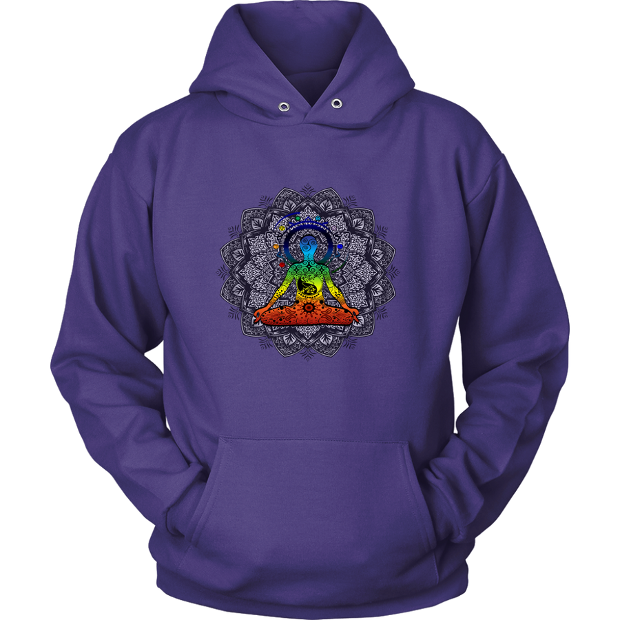Exclusive Yoga Mandala Design Unisex Hoodie