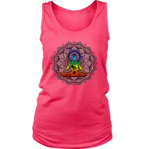 Exclusive Yoga Mandala Design Tank