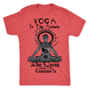 Limited Edition Custom Printed Mens Yoga T-Shirt