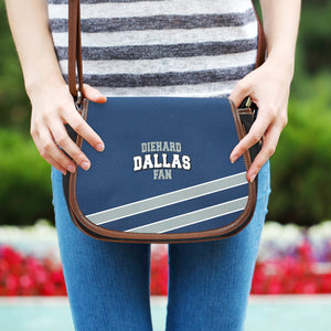 Diehard Dallas Fan Saddle Bag