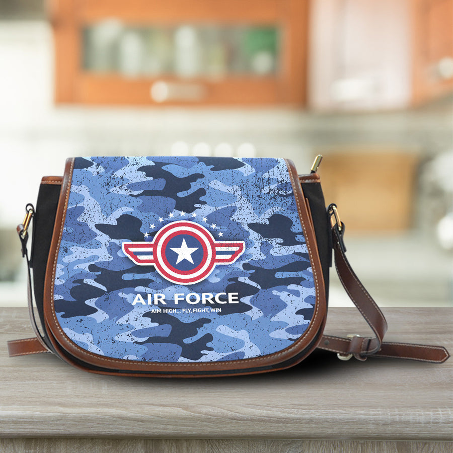 Air Force Saddle Bag