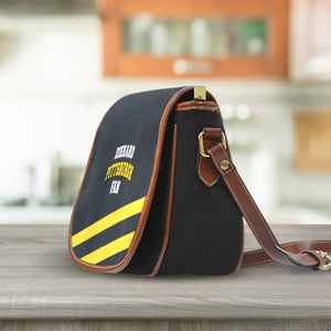 Diehard Pittsburgh Fan Saddle Bag