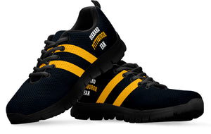 Diehard Pittsburgh Fan Running Shoes